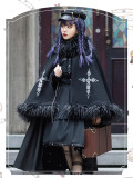 Assassination of the Dawn Ouji Lolita Blouse, Skirt and Cape