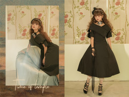 Time of Temple - Classic Lolita OP Dress