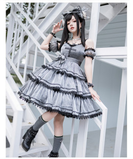 Freesia -Magic Cross- Sweet Gothic Lolita JSK
