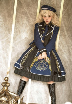 CastleToo -The Wounds of War- Ouji Lolita JSK Full Set