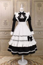 Alice Girl -Ellie Housekeeper- Classic Lolita OP Dress