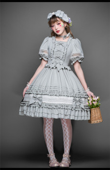 Shamil Classic Countryside Lolita OP Dress