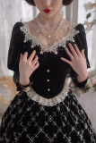 Krncrlo -Mrs. Cilinda- Classic Lolita Hairclip and Necklace