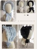MoiMoiHoney -The Falling Feather-  Lolita Bonnet and Veil