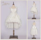MoiMoiHoney -The Falling Feather-  Normal Waist Sweet JSK