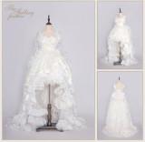 MoiMoiHoney -The Falling Feather-  Princess Lolita Wedding Dress