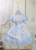 Alice Girl -Sweetheart Rescue Team- Sweet Lolita OP Dress