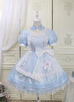 Alice Girl -Sweetheart Rescue Team- Sweet Lolita OP Dress