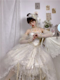 This Time -Miss Death- Gothic Lolita JSK Full Set