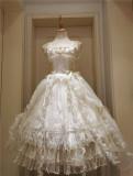 This Time -Miss Death- Gothic Lolita Petticoat