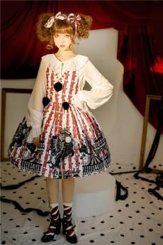 Circus Troup Sweet  Lolita JSK  and Sleeveless Topwear Set