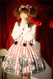 Circus Troup Sweet  Lolita JSK  and Sleeveless Topwear Set