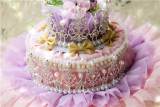 Lady Miao -Rainbow Cake Tale- Gorgeous Pricess Lolita Hat