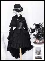 Neverland - Ouji Lolita OP Dress and Matched Cape