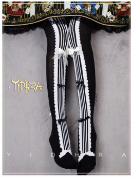 Yidhra -Musical Notation- Lolita Stocking for Spring and Autumn