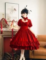 Fantasy -Miss Hurley- Classic Lolita OP Dress