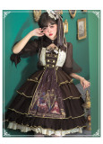 Refined Pharmacist Classic Lolita JSK and Matched Blouse