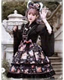 Yinluofu -Strawberry Milkshake- Sweet Lolita JSK and Headbow Set