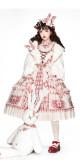 Miss Rabbit Sweet Lolita JSK and Short Coat