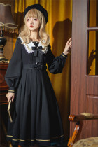 Seven Baby -Trainee- Classic Long Sleeves Lolita OP Dress
