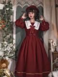 Seven Baby -Trainee- Classic Long Sleeves Lolita OP Dress