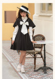 Amber Mirror -New Street Maiden- Classic Lolita JSK with Detachable Cape