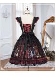 Yinluofu -Heart Queen- Gothic Lolita JSK
