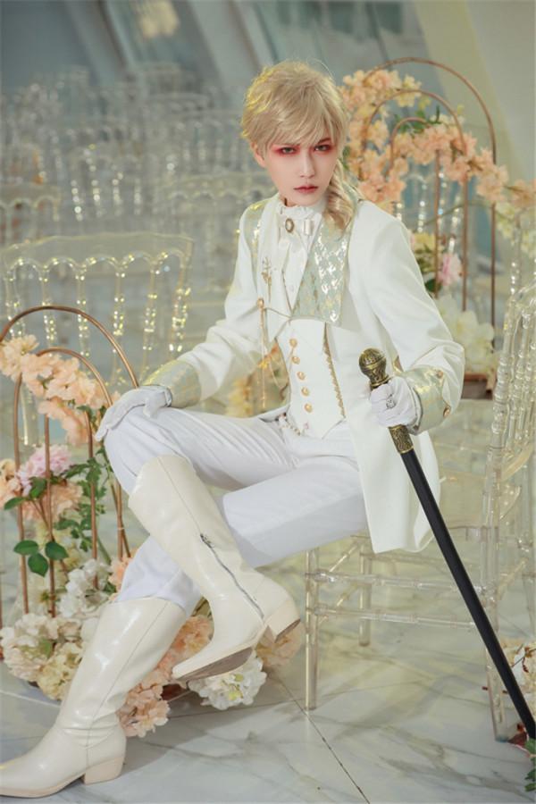 Immortal Thorn -Maiden Knight- Ouji Prince Long Lolita Jacket