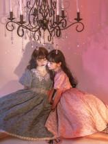 ZJ Story -Golden Years- Classic Embossment Lolita OP Dress Set