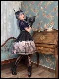 Neverland -Delorme Grey Crow- Gothic Lolita JSK