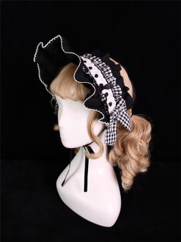 Alice Girl -Margaret- Sweet Doll Lolita Hairclip and Bonnet