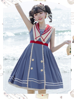 Blue Poem Sailor Lolita JSK