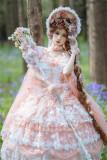 Gorgeous Fairy Tea Party Princess Wedding Lolita JSK with Arm Sleeves