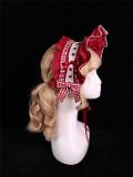 Alice Girl -Margaret- Sweet Doll Lolita Hairclip and Bonnet