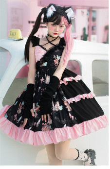Brocade Garden - Sweet Gothic Lolita JSK Dress