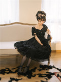 Black Pearl Classic Lolita OP Dress