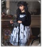 Demon Doll Haloween Gothic Lolita JSK  and Vest