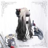 Dalao -Day and Night- Long Big Curls Wavy Lolita Wig