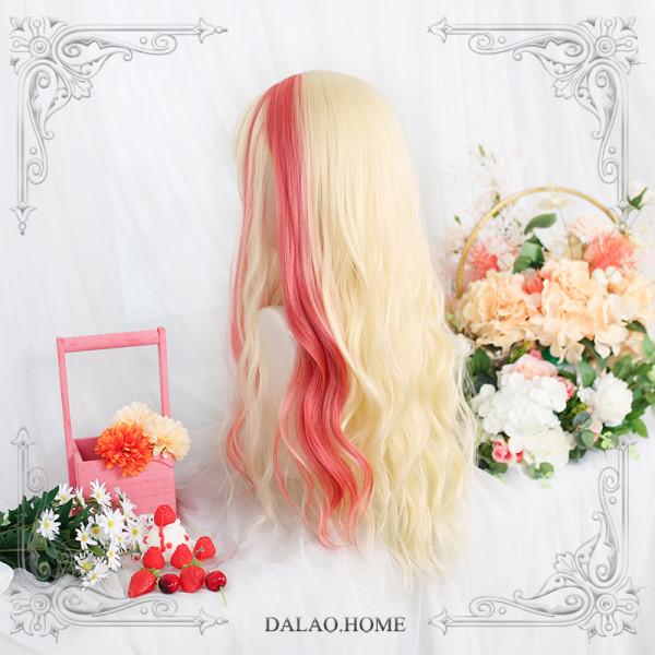 Dalao -Shining Sun- Long Big Curls Wavy Lolita Wig