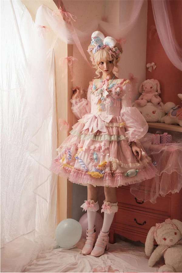 Puppet Night -Candy Party- Sweet JSK and Blouse