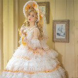 The Palace of Angels Tea Party Princess Wedding Lolita JSK with Arm Sleeves