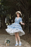 Withpuji -Sea Maiden- Sweet Lolita OP Dress