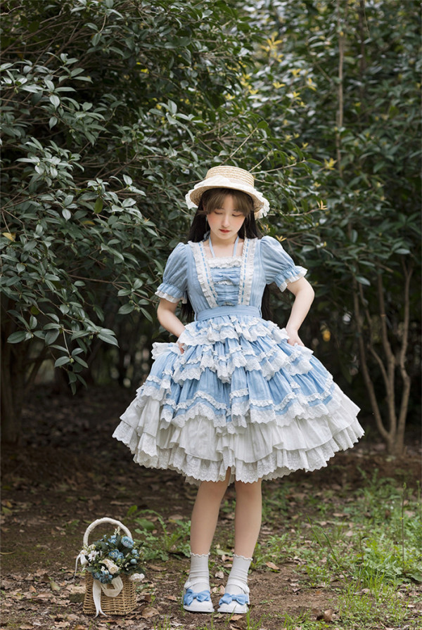 Withpuji -Sea Maiden- Sweet Lolita OP Dress