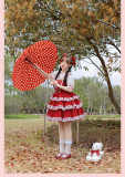 Withpuji -Cherry Time- Sweet Doll Lolita OP Dress
