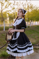 Withpuji -Manor- Countryside Classic Lolita OP Dress