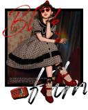 Baduoni -Black Film- Classic Lolita OP Dress