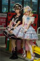Sweety Honey -Sweet Dream- Sweet Lolita JSK Full Set