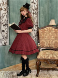 Letter from Castel Classic Vintage Casual Lolita OP Dress