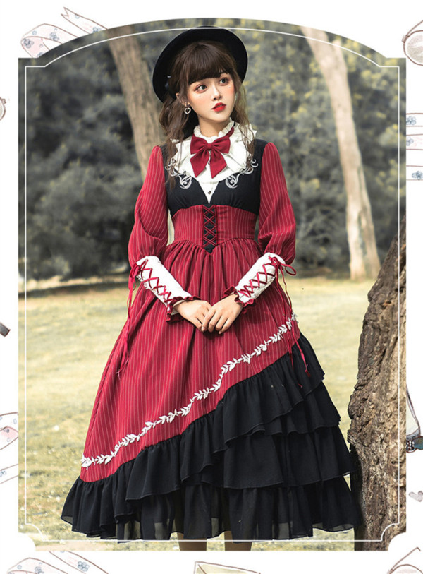 Magical Night Classic Lolita OP Dress