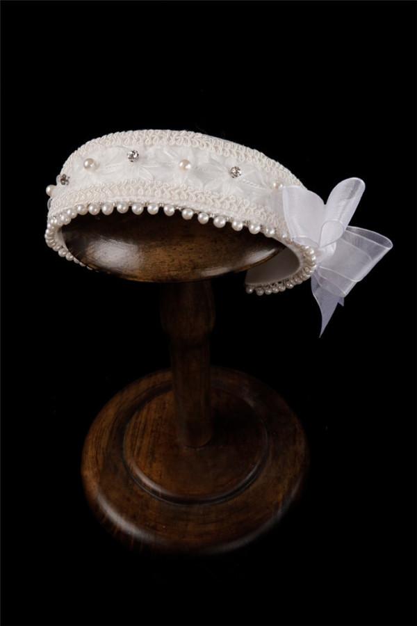 Cyan Lolita -Sound of Waves- Sailor Lolita Headwear and Sailor Hat
